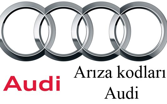 Arıza kodları Audi