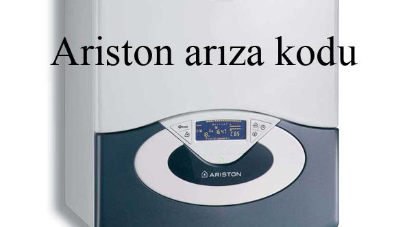ariston arıza kodu
