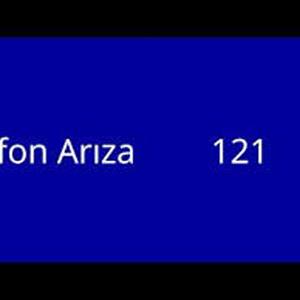 Telefon arıza 121