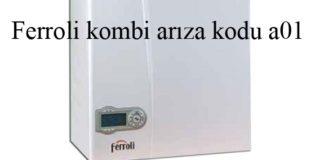 Ferroli kombi arıza kodu a01