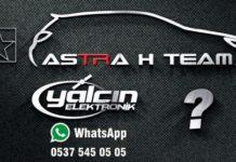 Astra H Team sticker