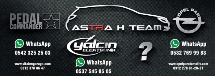 Astra H Team sticker