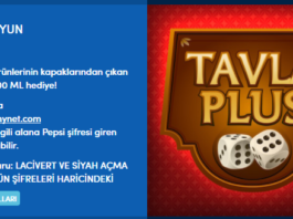 Bedava Pepsi Şifreleri 2017