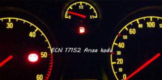 ECN 17152 Arıza kodu