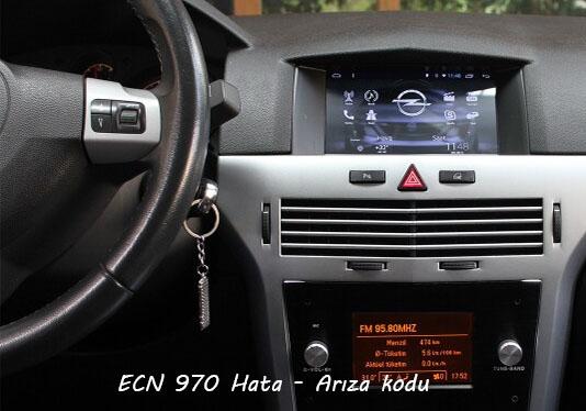ECN 970 Hata - Arıza kodu