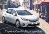 Toyota Corolla arıza işaretleri