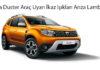 Dacia Duster Araç Uyarı İkaz Işıkları Arıza Lambaları
