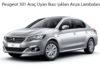 Peugeot 301 Araç Uyarı İkaz Işıkları Arıza Lambaları