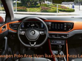 Volkswagen Polo Araç Uyarı İkaz Işıkları Arıza Lambaları