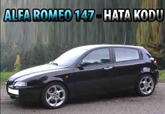 Alfa Romeo 147 arıza kodu