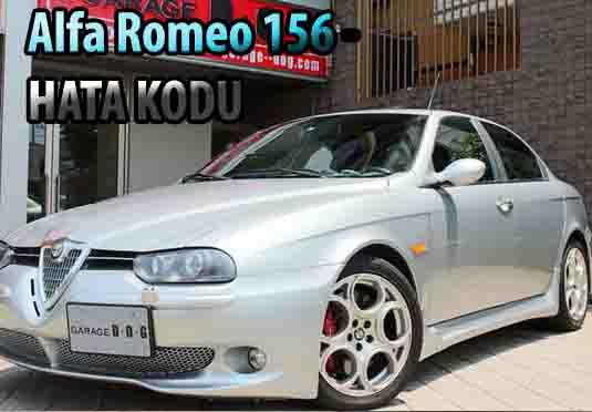Alfa Romeo 156 arıza kodu