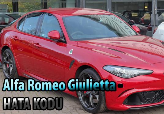 Alfa Romeo Giulietta arıza