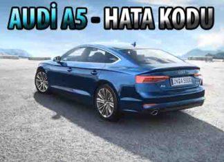 Audi A5 arıza kodu