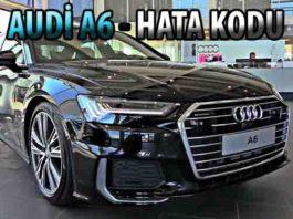 Audi A6 arıza kodları