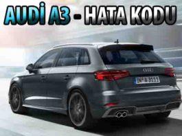 Audi a3 arıza